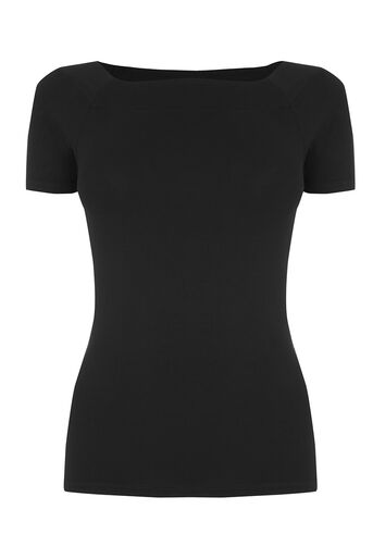 Oasis, SQUARE NECK TEE Black 0