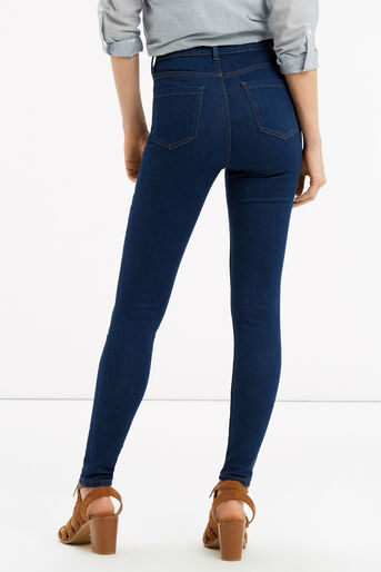 Oasis, Lily Ankle Grazer Jeans Dark Wash 3