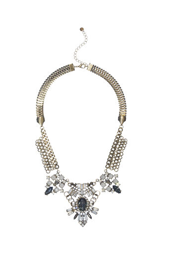 Oasis, STATEMENT CHAIN COLLAR Gold 0