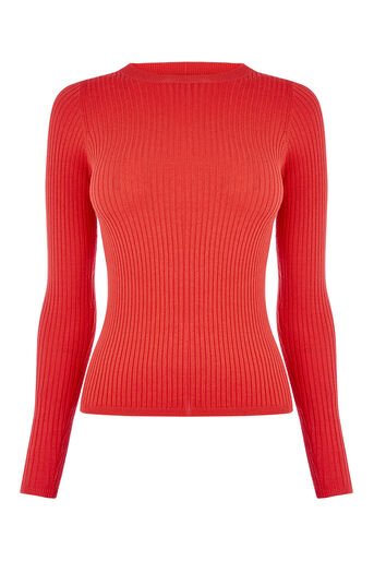 Oasis, RIBBED TOP Mid Red 0