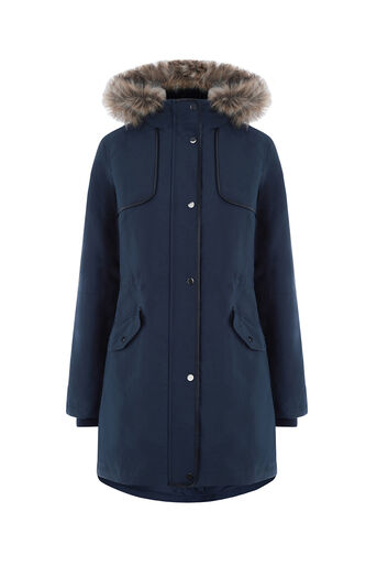 Oasis, THE GRACE PREMIUM PARKA Navy 0
