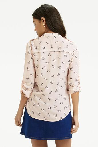 Oasis, Anchor Shirt Multi Natural 3
