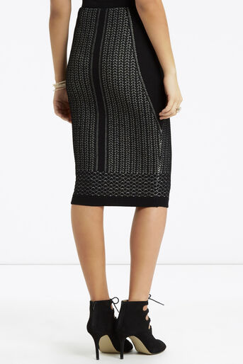 Oasis, Lace Compact Skirt Black 3