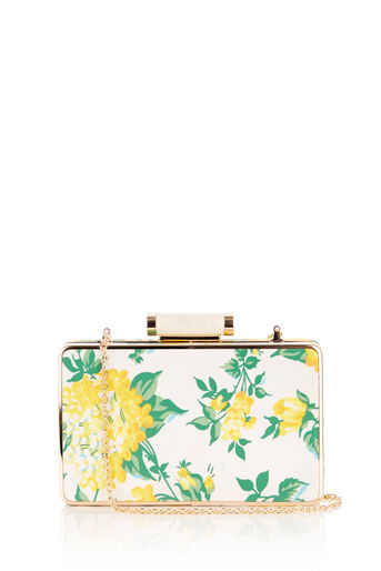 Oasis, BLOSSOM BOX CLUTCH Mid Yellow 0