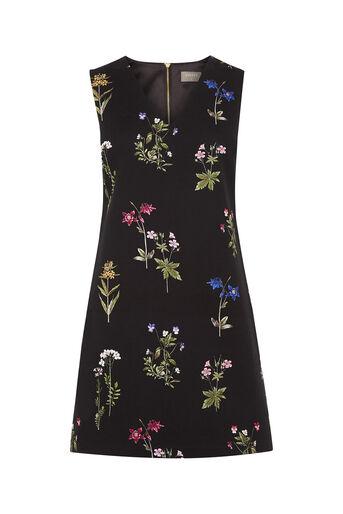 Oasis, Botany V Neck Dress Multi 0