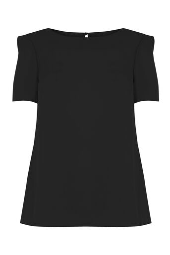 Oasis, Formal T-Shirt Black 0