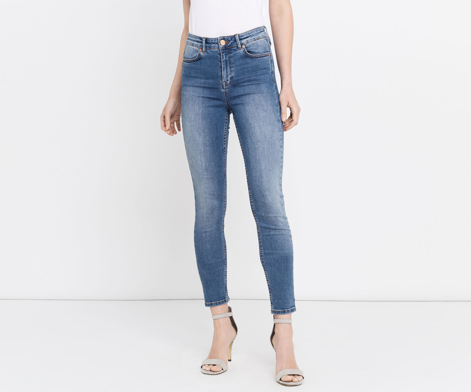 Oasis, STILETTO SKINNY JEANS Light Wash 1
