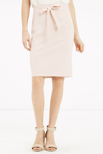 Oasis, Bonnie Workwear Skirt Mid Neutral 1