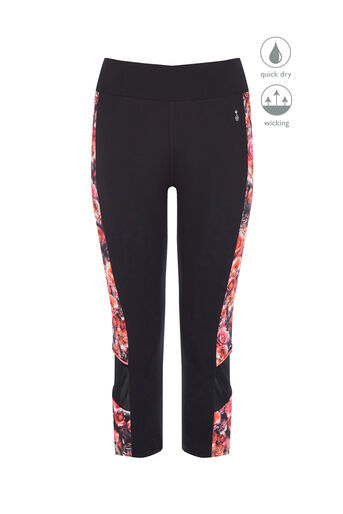 Oasis, PINEAPPLE BLOOM CAPRI PANT Multi 0