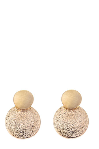 Oasis, DISC UNDER-EAR EARRINGS Gold 0
