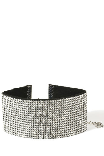 Oasis, DIAMANTE CUFF BRACELET Rose Gold 0
