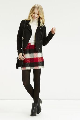 Oasis, Suedette Biker Jacket Black 2