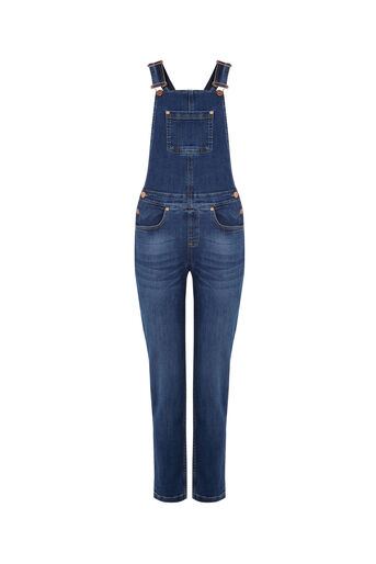 Oasis, Millie dungaree Denim 0