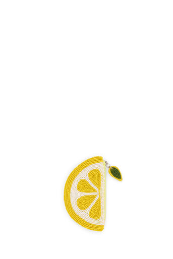 Oasis, LEMON BEADED PURSE Mid Yellow 0