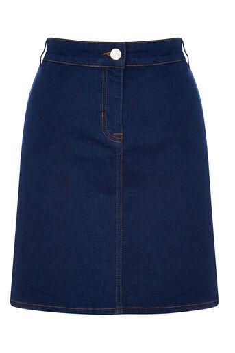 Oasis, The Florence Skirt Denim 0