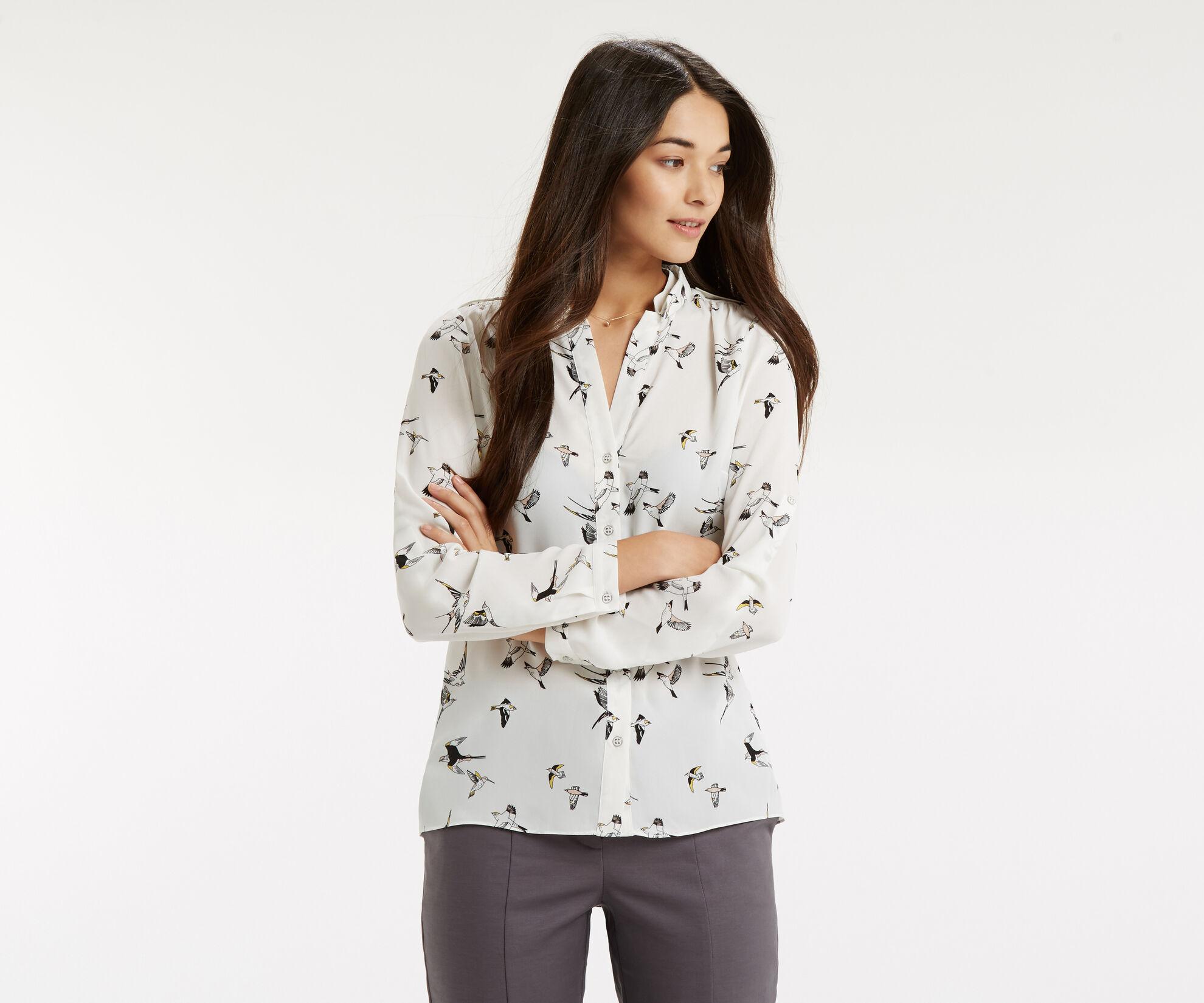 Oasis, Bird Print Shirt Multi 1