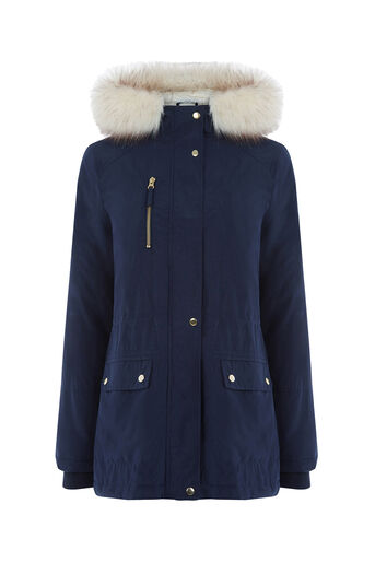 Oasis, THE FRANCINE PARKA Navy 0