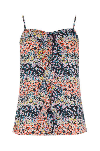 Oasis, DITSY FRILL CAMI Multi 0