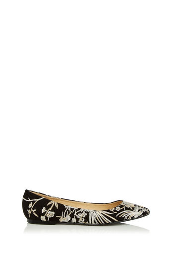 Oasis, EMBROIDERED FLAT POINT Multi Black 2