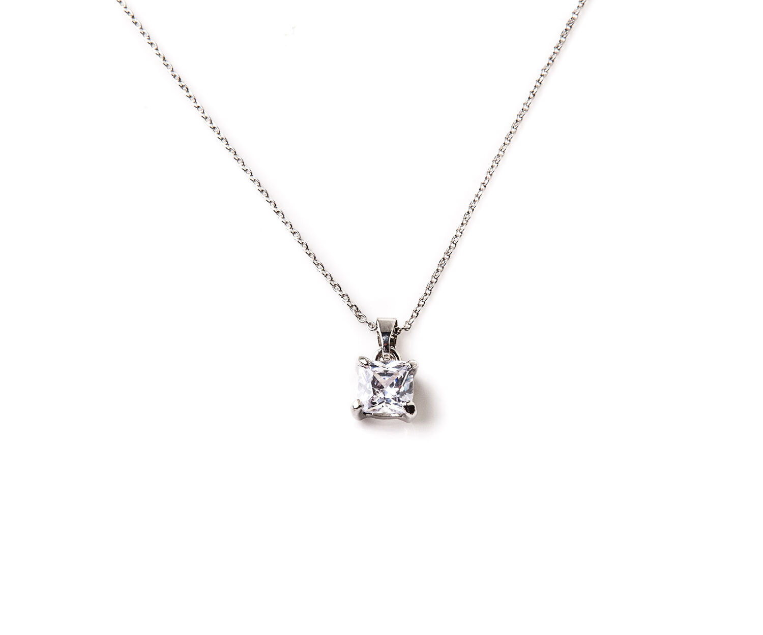 Oasis, SOLITAIRE NECKLACE Silver 1