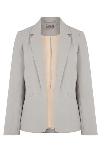 Oasis, TAILORED EVENT JACKET Mid Grey 0