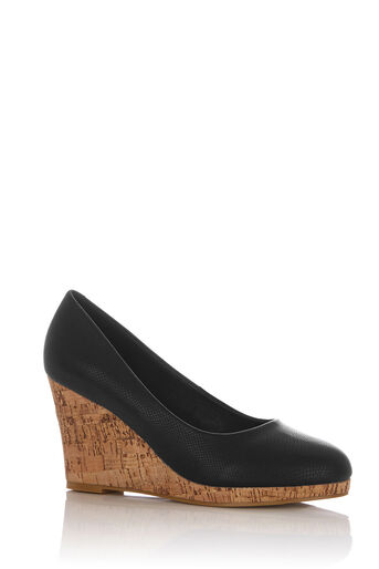 Oasis, CONNIE WEDGE Black 0