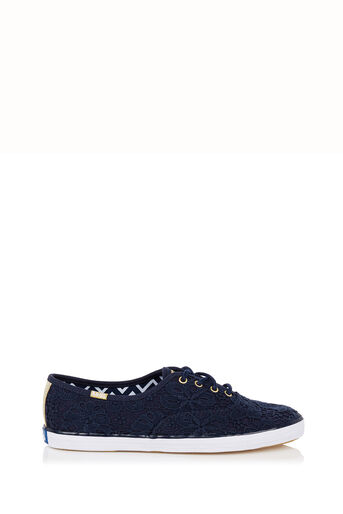 Oasis, Keds Crochet Lace Trainer Navy 0