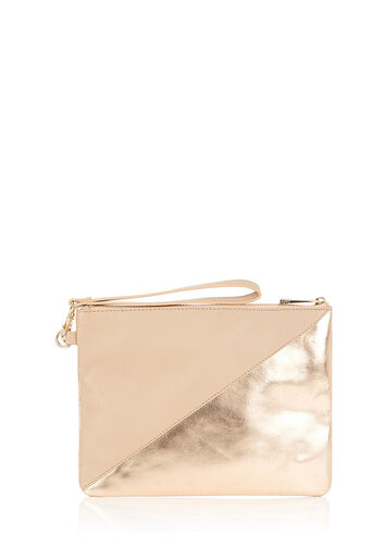 Oasis, FIFI ZIP CLUTCH Mid Neutral 0