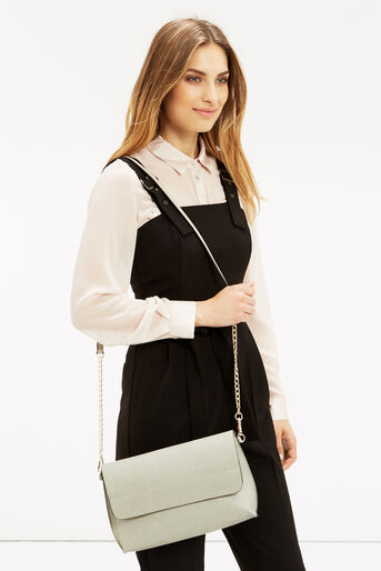 Oasis, REVERSIBLE CLUTCH BAG Multi Grey 1