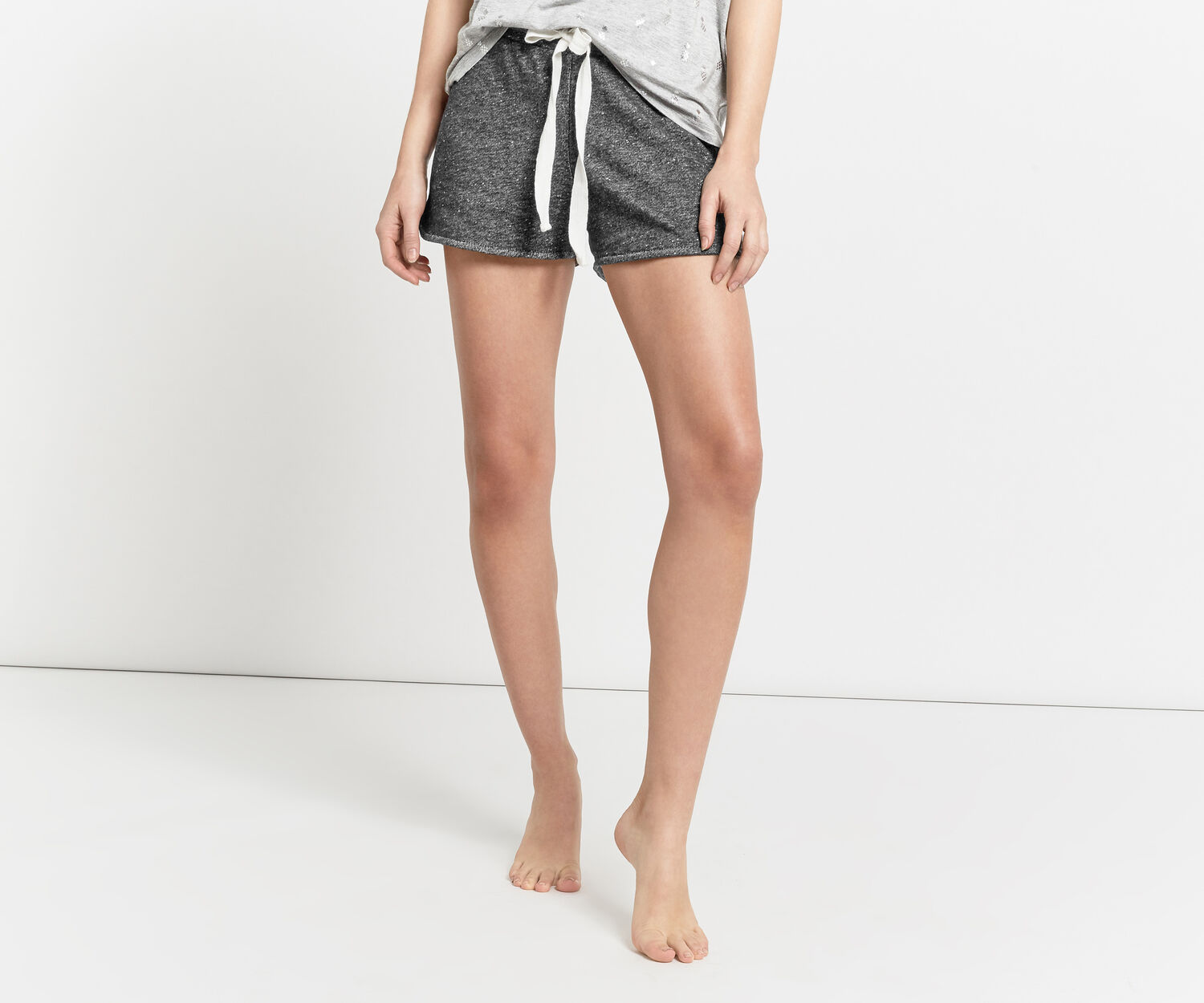 Oasis, PINEAPPLE SUPER-SOFT SHORT Mid Grey 1