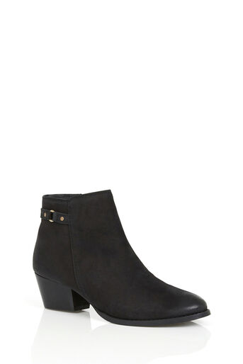 Oasis, SALLY STRAP ANKLE BOOT Black 1