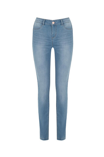 Oasis, Classic Skinny Jeans Light Wash 0