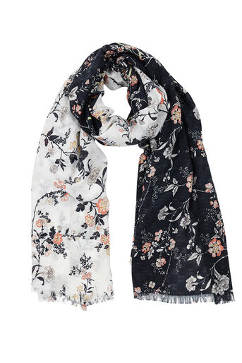 Oasis, ORIENTAL PATCHED SCARF Multi 0