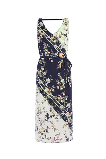 Oasis, SASHIKO PRINT DRESS Multi 0