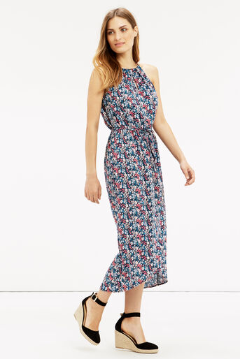 Oasis, Ditsy Midi Dress Multi 1