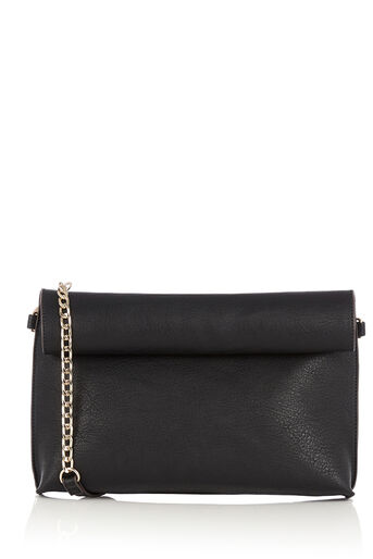 Oasis, REVERSIBLE CLUTCH BAG Multi Black 0