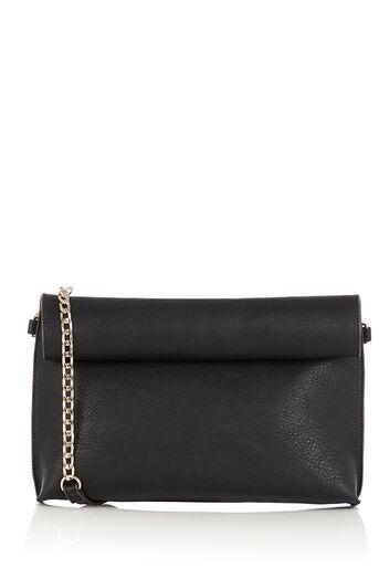 Oasis, REVERSIBLE CLUTCH BAG Multi Black 0