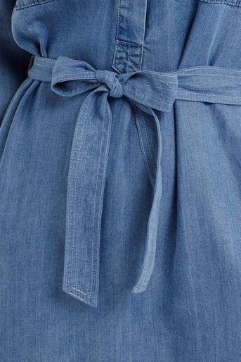 Oasis, Bertie Shirt Dress Denim 4