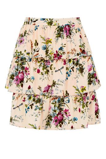 Oasis, Chintz Rosanna Rara Skirt Multi Natural 0