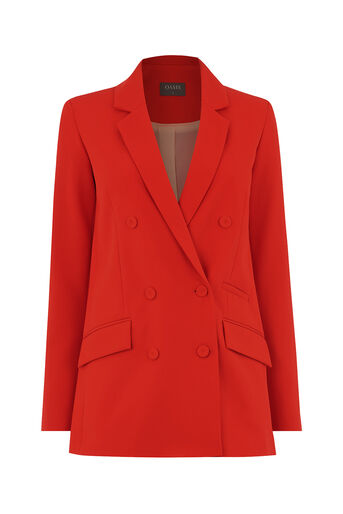 Oasis, ULTIMATE RED SUIT JACKET Rich Red 0