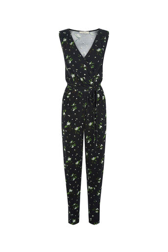 Oasis, V&A JUMPSUIT Black 0