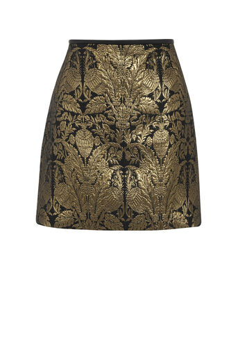 Oasis, WARNER JACQUARD MINI SKIRT Multi 0