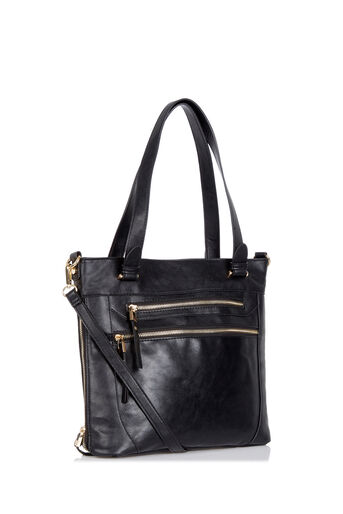 Oasis, ALICE TOTE BAG Black 2