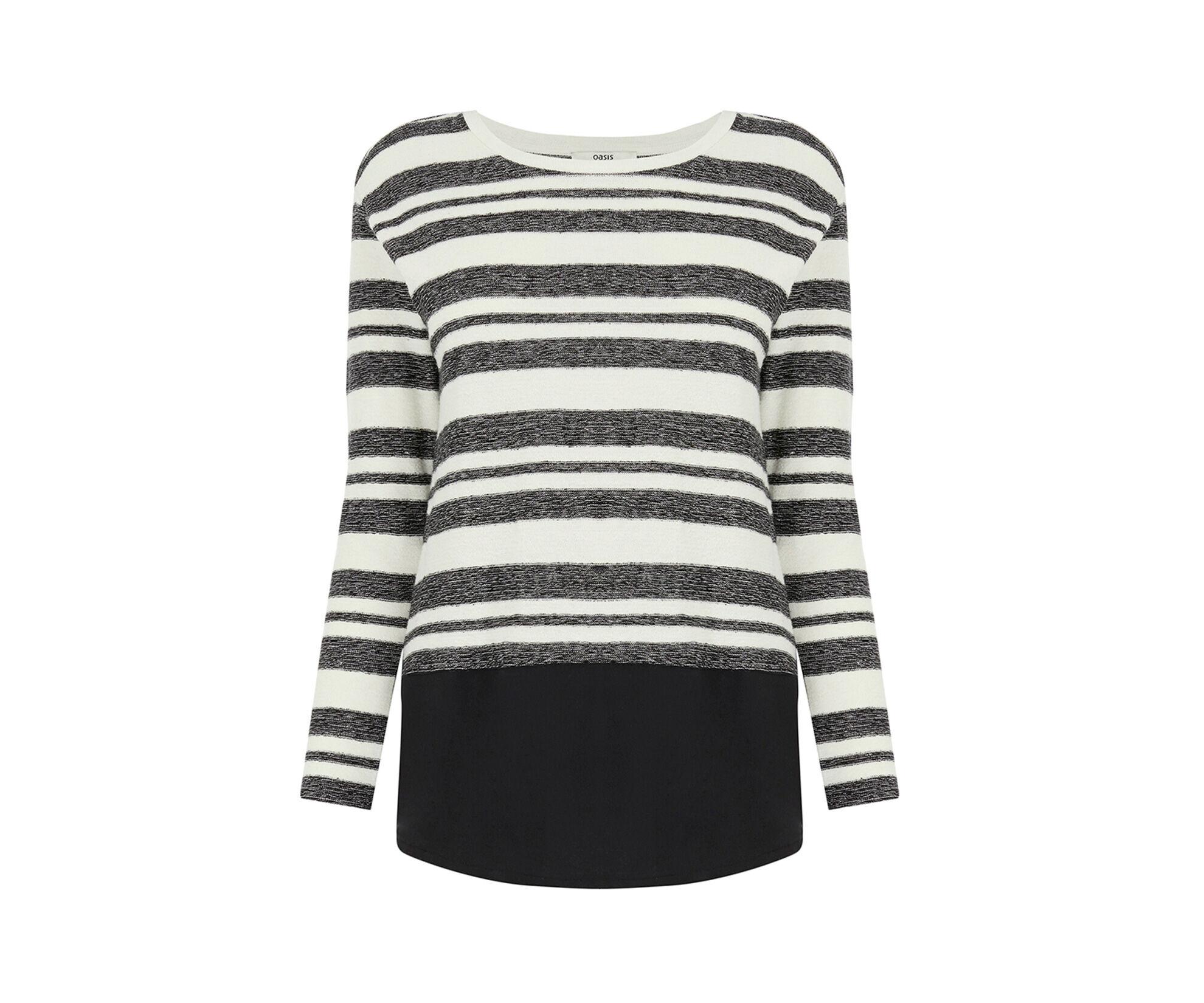 Oasis, Bon Bon Stripe Sweater Multi 0