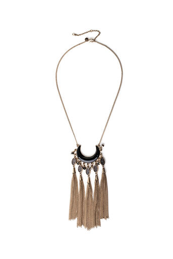 Oasis, CRESCENT NECKLACE Gold 0