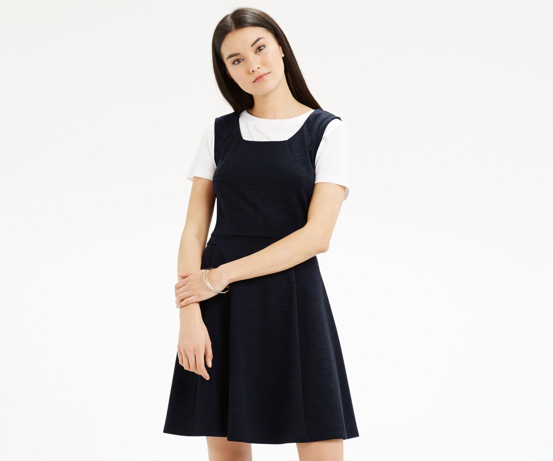 Oasis, Jersey Dress Navy 1