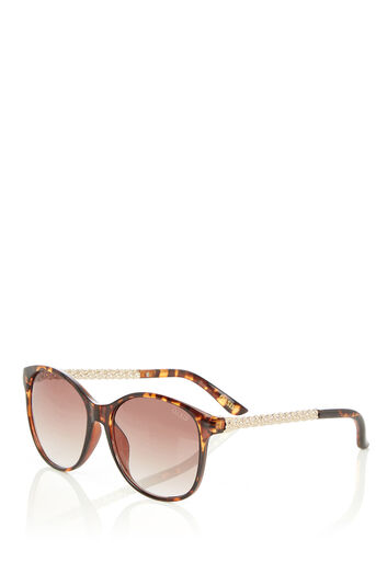 Oasis, MATILDA SUNGLASSES Mid Brown 0