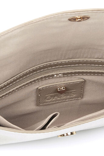 Oasis, PATENT ENVELOPE CLUTCH Mid Neutral 3