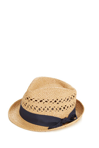 Oasis, Navy Ribbon Trilby Mid Neutral 0