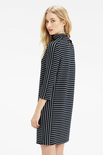 Oasis, Stripe Shift Dress Multi 3
